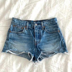 Vintage Levi's High Waisted Shorts | 25